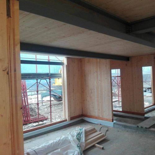 Montaggio edifici in legno - CLV Costruzioni